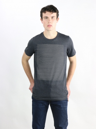 Supermaggie 10000 Circles Heather Charcoal Charlie Tee