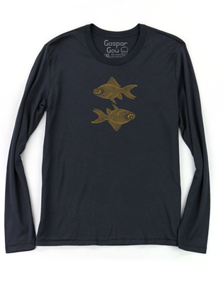 Supermaggie Double Goldfish Black Cy Long Sleeve