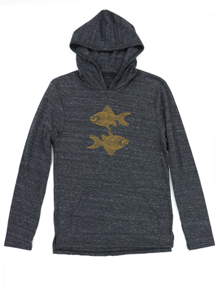 Supermaggie Double Goldfish Coal Holden Hoodie