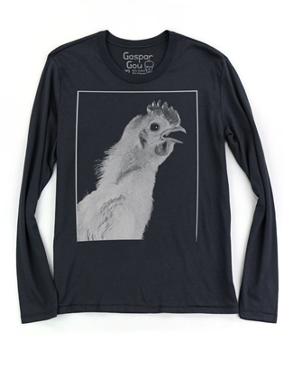 Supermaggie URWUE Chicken Black Cy Long Sleeve