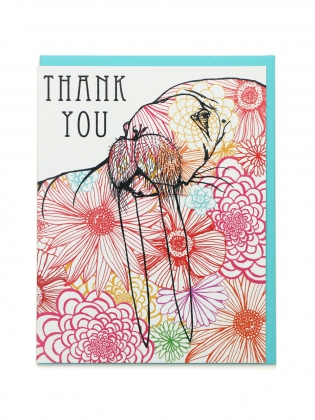 Supermaggie Thank You Walrus Card