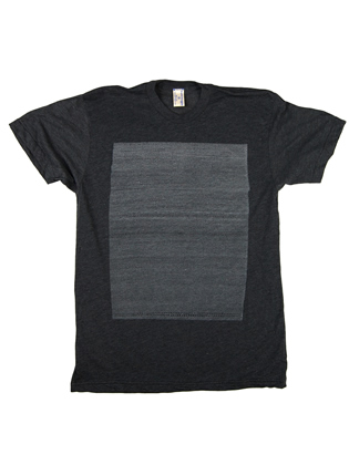 Supermaggie 10000 Circles Heather Charcoal 5050 Tee