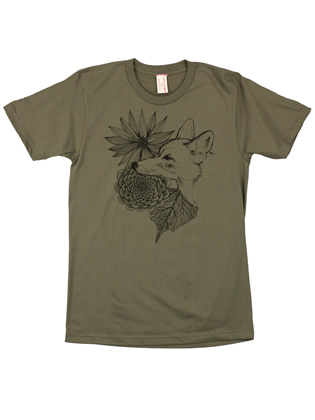 Supermaggie Coyote Army Cotton Tee