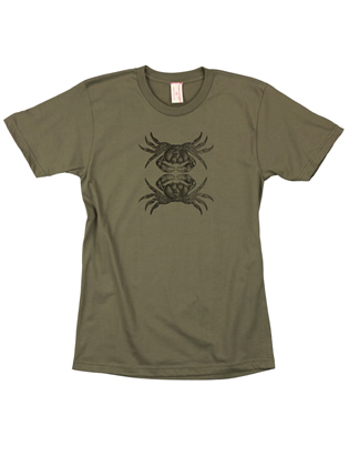 Supermaggie Crabs Army Cotton Tee