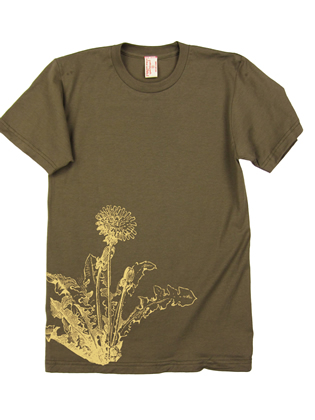 Supermaggie Dandelion Army Cotton Tee