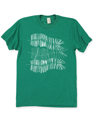 Supermaggie Ferns Papaya 5050 Tee