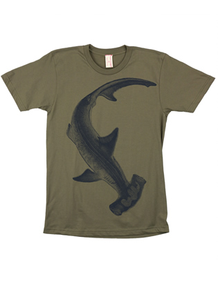 Supermaggie Hammerhead Army Cotton Tee
