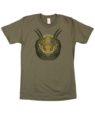 Supermaggie Hypno Goats Army Cotton Tee