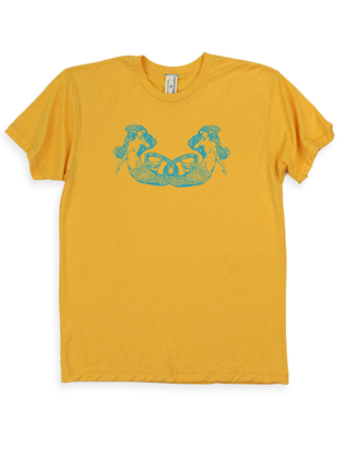 Supermaggie Mermaids Mango 5050 Tee