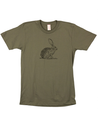 Supermaggie Rabbit Army Cotton Tee