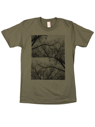 Supermaggie Trees Army Cotton Tee