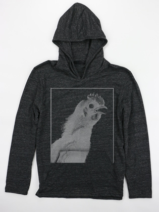Supermaggie URWUE Chicken Coal Hoodie