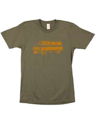 Supermaggie Van Army Cotton Tee