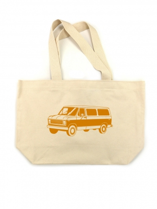 Supermaggie Van Canvas Tote Bag