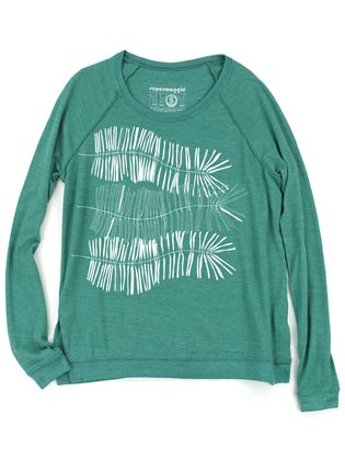 Supermaggie Ferns Viridian Amy Eco Long Sleeve