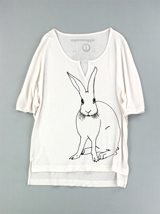 Supermaggie Funny Bunny Marshmallow Layla Top