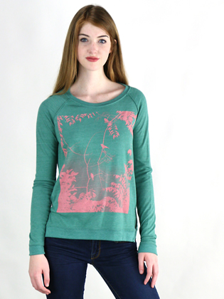 Supermaggie Jungle Viridian Amy Eco Long Sleeve