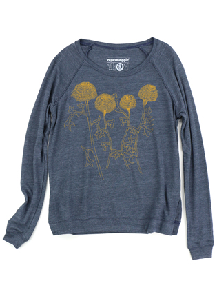 Supermaggie Mums Heather Navy Amy Eco Long Sleeve