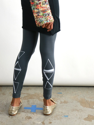 Supermaggie Prisms Asphalt Linda Leggings