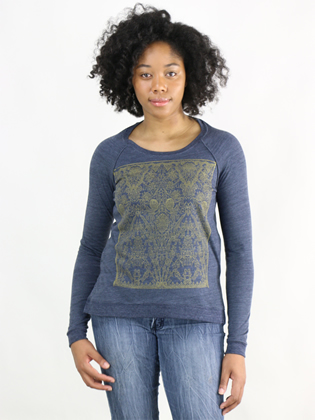 Supermaggie Victorian Heather Navy Amy Eco Long Sleeve