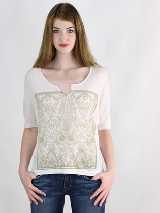 Supermaggie Victorian Marshmallow Layla Top