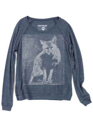 Supermaggie Wolf Heather Navy Amy Eco Long Sleeve